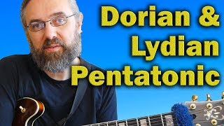 Exotic Pentatonic Scale for Dorian and Lydian You Forgot to Check out