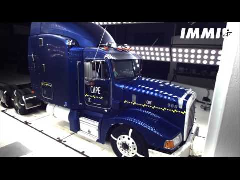 IMMI Semi Truck Crash Test