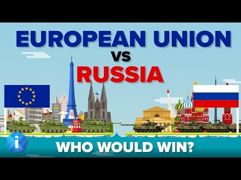 European Union (EU) vs Russia 2017 - Who Would Win - Army / Military Comparison