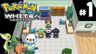 Pokémon Black & White - Gameplay Walkthrough - Part 1 - Unova Region Awaits