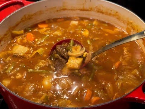 Ultimate Beef & Vegetable Soup by The Cajun Ninja
