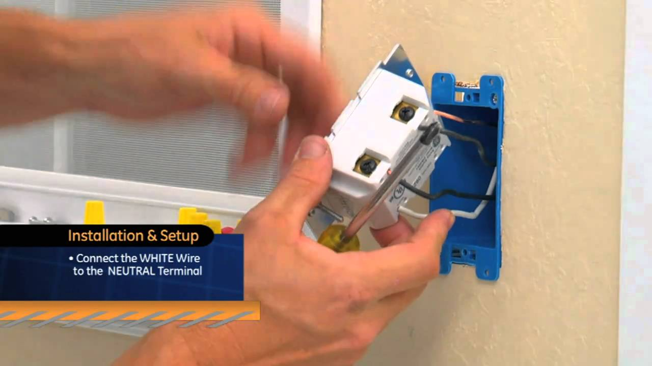 Ge Z Wave On Off Switch Youtube Home Electrical Wiring A Switched Outlet Diagram Premium