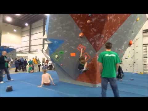 Indianapolis 2013 Bouldering Divisionals video.wmv