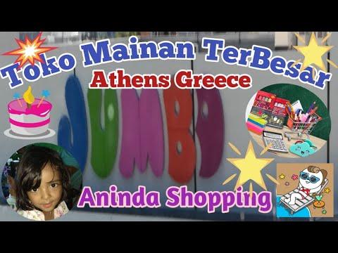 VLOG || Shopping Ke Jumbo Toko Mainan TerBesar Di Greece