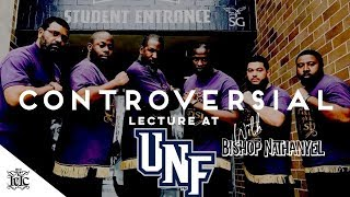 The Israelites: CONTROVERSIAL LECTURE AT NORTH FLORIDA UNIVERSITY