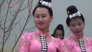 Múa: Xẽ Bók ( Xòe Hoa). ĐVN Bản Bon, Xã Tông Cọ, Thuận Châu, Sơn La