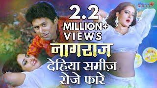 #VIDEO SONG - Dehiya Samij Roje Phare - Bhojpuri Hit Video Song 2018 - Superhit Film (Naagraaj)