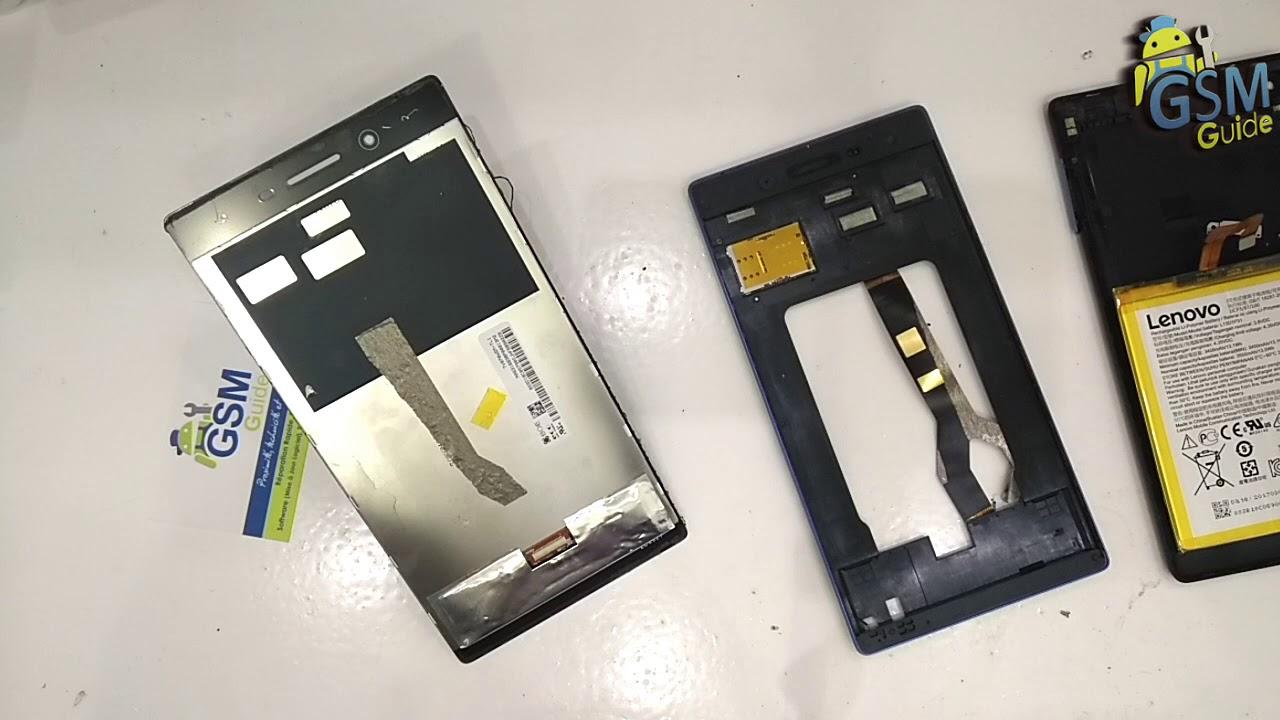 Lenovo Tab3 7 / TB3-730X Lcd Screen Repair Replacement - GSM GUIDE