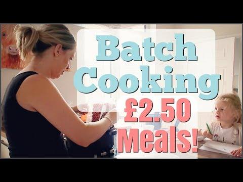 Batch Cooking With Minced / Ground Beef | £2.50 Meals