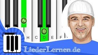 DJ Ötzi - Nik P. - Geboren um dich zu lieben - Klavier lernen - Musiknoten - Akkorde