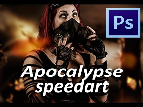 how to make apocalypse in photoshop