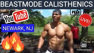 """""""Golden Arms"""" - 44 Yrs - """"BEASTMODE"""" Requirements"""" - NEWARK, NEW JERSEY - Weequahic Park"""