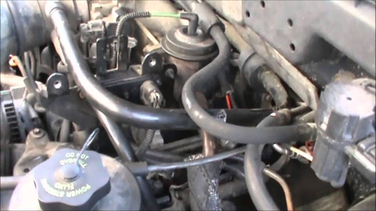 egr valve cleaning ford focus  YouTube