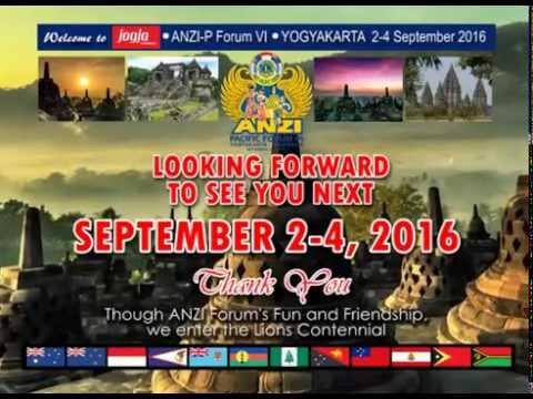 ANZI Pacific Forum VI at Yogyakarta 2016