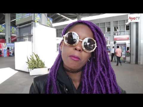 Vanessa Mdee alipowasili Tanzania kutokea South Africa kwenye tuzo za MTV MAMA 2015