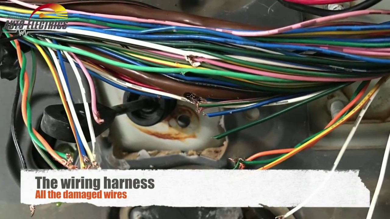 repairing wiring harness diy install gone wrong accelerate auto rh youtube com Automotive Wiring Harness Manufacturers Painless Wiring Harness Kit