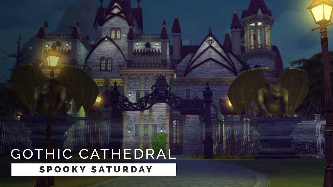 Sims 4   Speedbuild   Spooky Saturday - Gothic Wedding ...