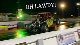 1100whp 2JZ RZR hits THE DRAG STRIP and FREEDOM FACTORY BURNOUTS!