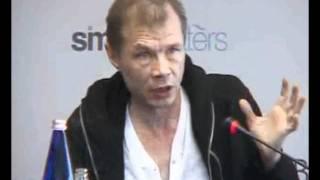 Александр Баширов на пресс-конф. фильма Безразличие