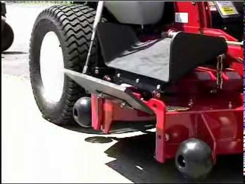 TrimmerTrap's BB-1-Rider mpg (Blade Blocker for Zero Turn Mowers)
