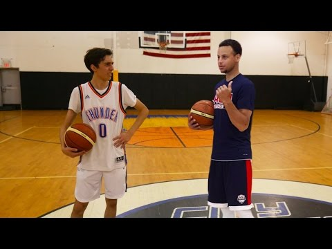 Thumbnail: HALF COURT CHALLENGE VS STEPHEN CURRY