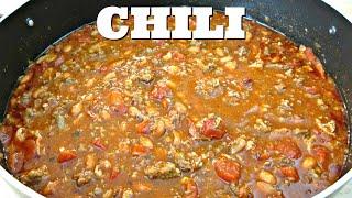 Amazing Homemade Chili - Ground Beef, Bacon & Pork Sausage - PoorMansGourmet
