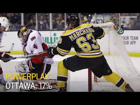 Ottawa Senators vs Boston Bruins Key Stats