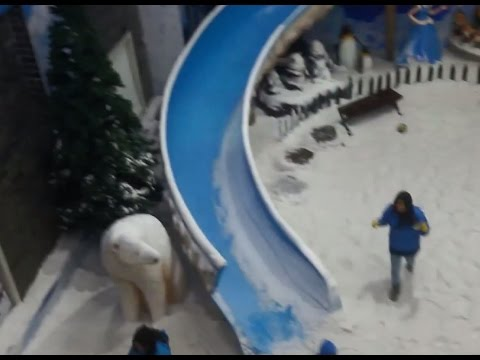 Snow World Jaipur | Snowplanet opened in Jaipur