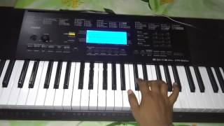 har karam apna karenge-KARMA-(Full Song)-on keyboard || Milan Nai