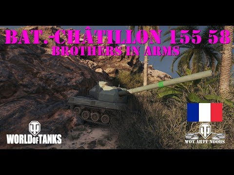 Bat.-Châtillon 155 58 - Brothers in Arms