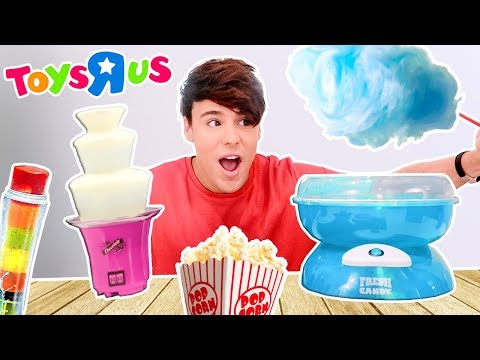 i only ate TOYS'R'US foods for 24 hours !!!