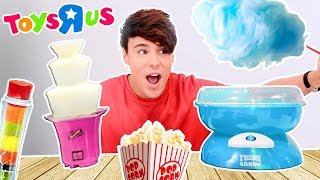 "i only ate TOYS""R""US foods for 24 hours !!!"