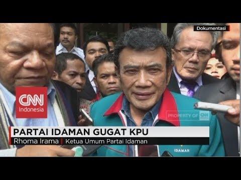 Partai Idaman Mempertanyakan Keputusan Surat KPU - Sidang Perdana Gugatan Partai Idaman di PTUN