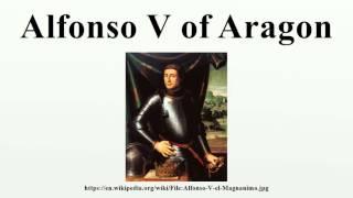 Alfonso V of Aragon