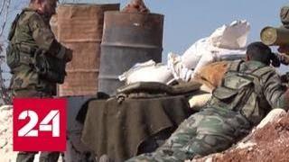 Сирийские военные захватили боевиков из