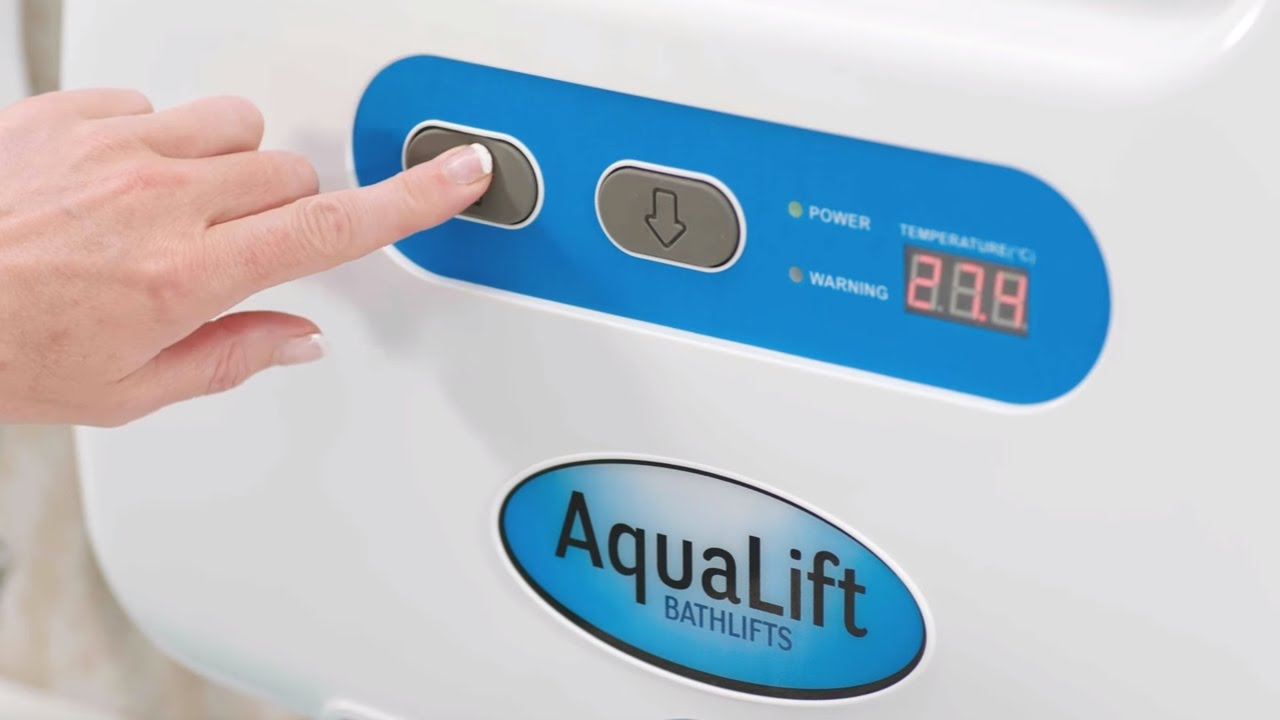 How the AquaLift® Bathlift works - YouTube