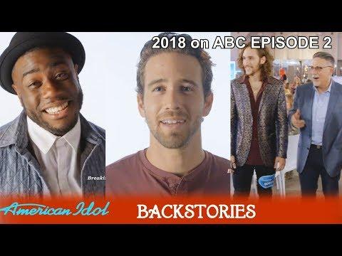 Full Backstory TREVOR HOLMES - BRANDON DIAZ - WILLIAM CASANOVA   American Idol 2018 Episode 2