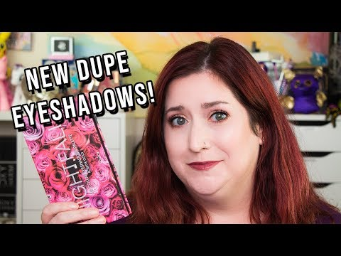 CCOLOR COSMETICS | New dupe eyeshadow palettes! Swatches & Tutorial