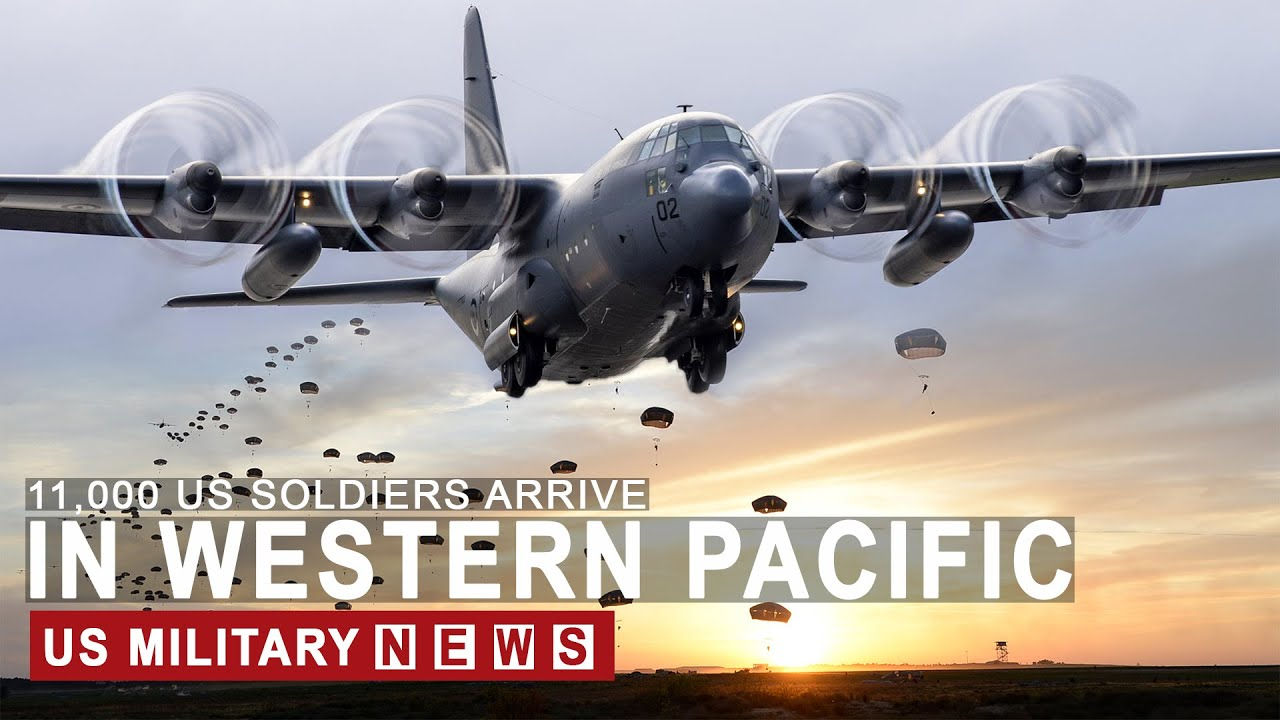 US VS CHINA (September 21, 2020) 100 Planes And 11,000 Soldiers arrives in western Pacific