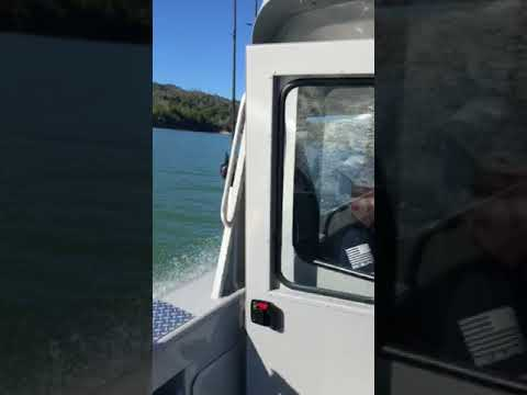 Lake Sonoma on our new 2018 Hewescraft 220 ocean pro
