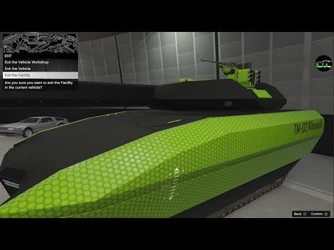 GTA 5 - DLC Vehicle Customization (TM-02 Khanjali Tank) and Durability Test