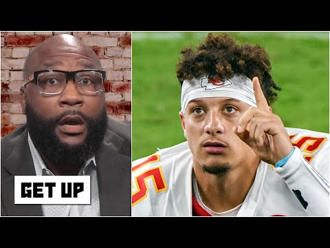 The Ravens' defense feared Patrick Mahomes before the game even started - Marcus Spears | Get Up