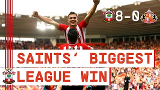 CLASSIC MATCH | Southampton beat Sunderland 8-0 for club's biggest ever Premier League win