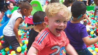 Parents and Kids Play Together at the World's Biggest Play Date