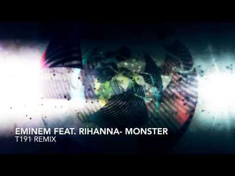 Eminem ft. Rihanna - Monster (T191 DnB Remix)