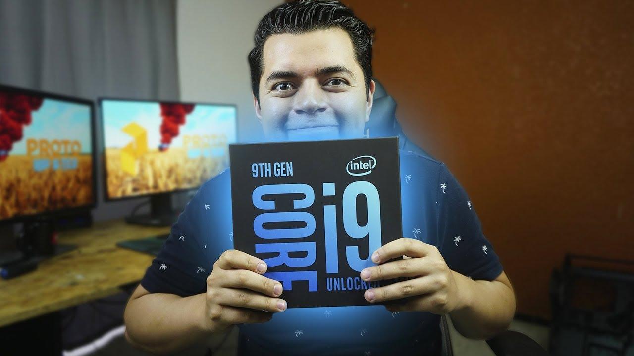Download ¿El mejor procesador para juegos llego?   Intel i9 9900k - Proto Hw & Tec