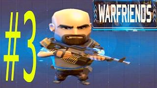 Новая игра ОДИН НА ОДИН Сражение онлайн WAR FRIENDS #3  битва Ранги Большой выбор солдат и оружия