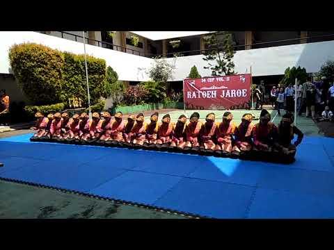 Tari Saman MTsN 1Jakarta Juara 2 @54Cup. Vol.11