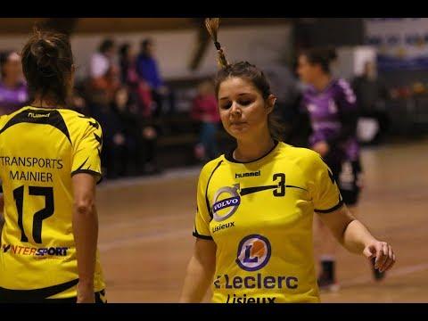 Hand-Ball - N 3 F C A Lisieux / Lanester ( 31 - 29)