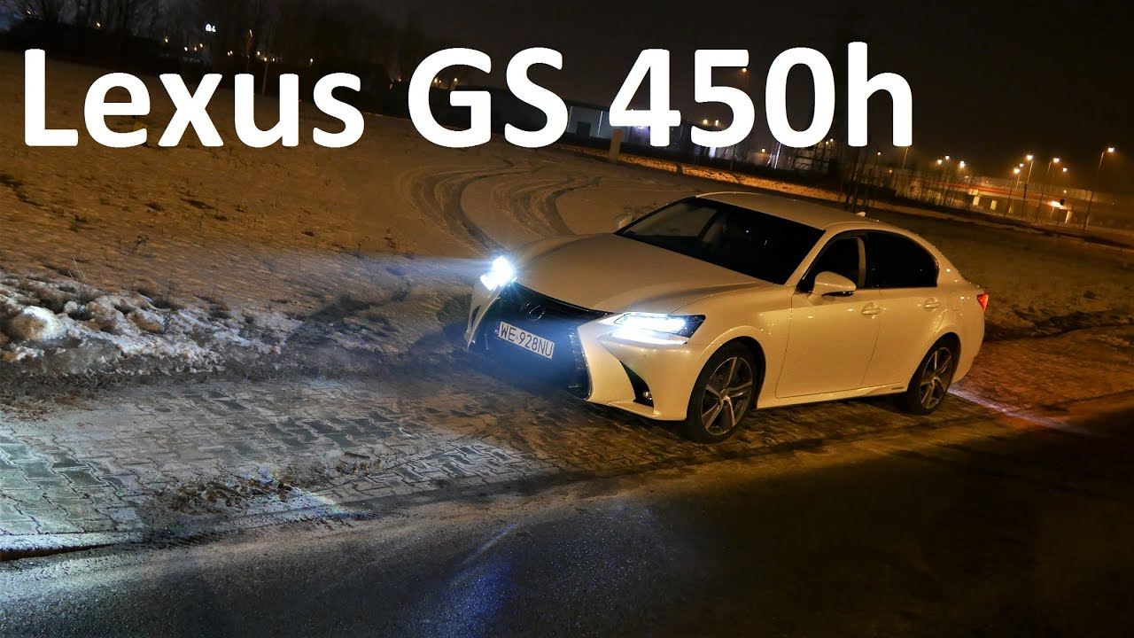 2017 Lexus GS 450h LED LIGHTS TEST Ciekawostki Nocne PL